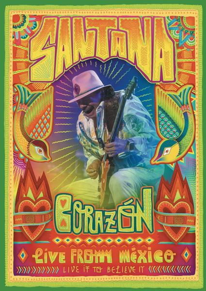 Santana-Corazon Live From Mexico_600