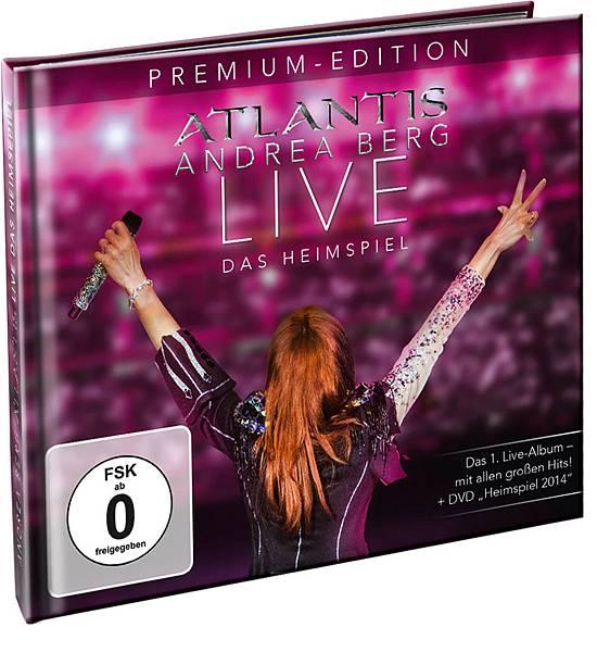 Andrea Berg-Atlantis Live 2CD+1DVD (Premium 2CD+1DVD)_BOOK