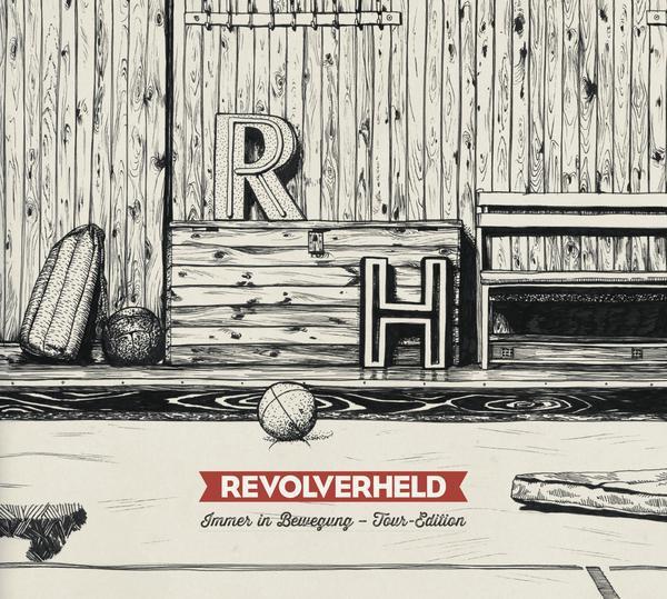 Revolverheld - Immer In Bewegung - Tour Edition (Studio Album + Live CD)_600