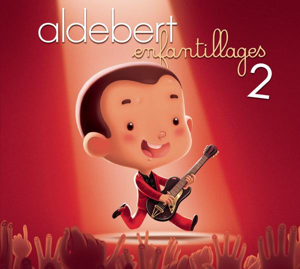 Aldebert-Enfantillages 2 (CD+DVD)_600