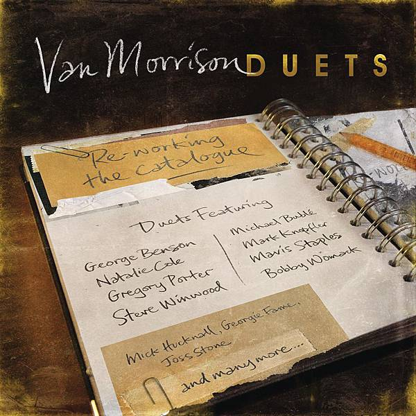 Van Morrison Duets Cover