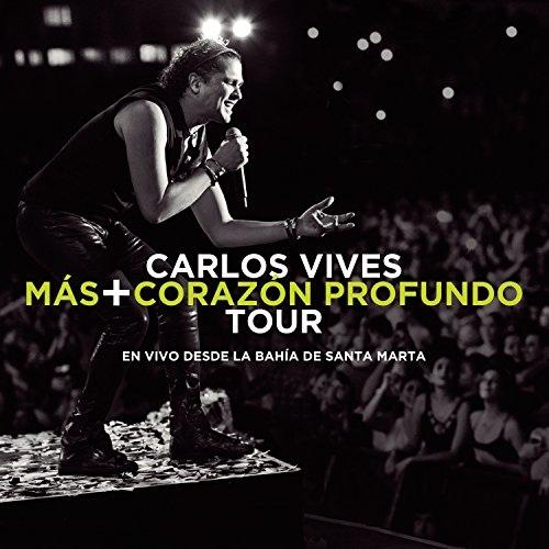 Carlos Vives-Mas+Corazon Profundo Tour