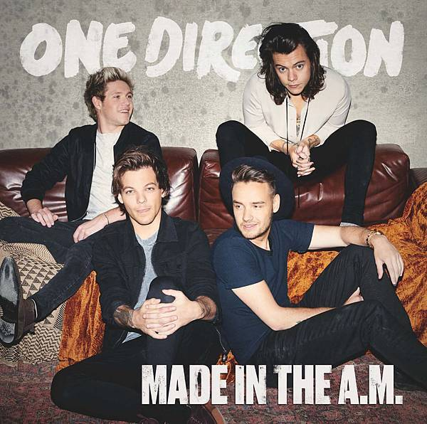 1D Made In The A.M. 普通版Cover
