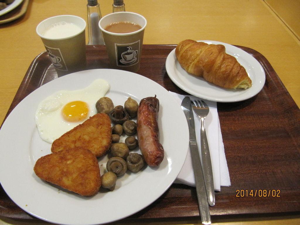 英式早餐~~