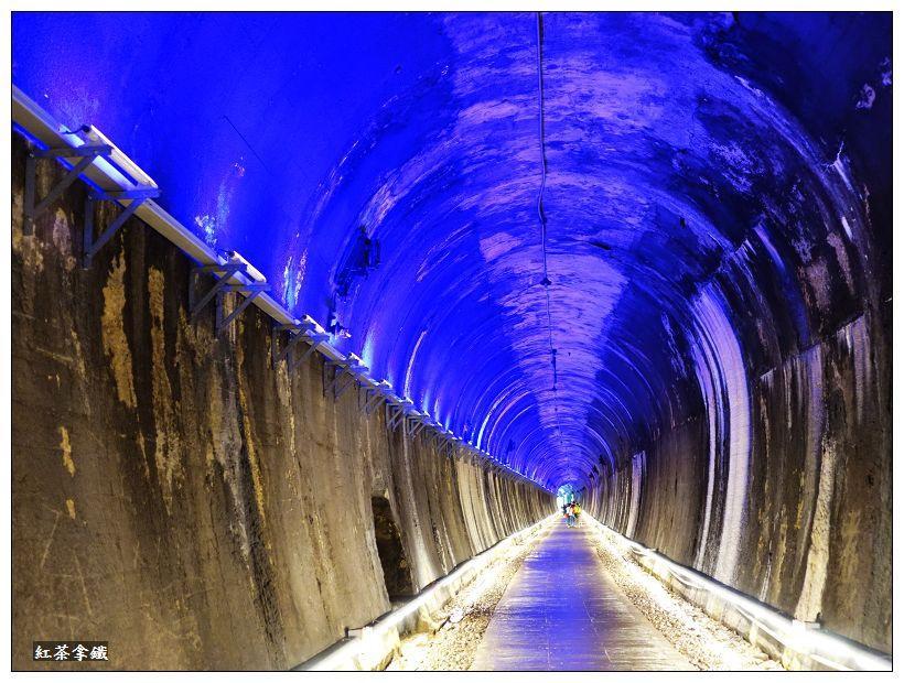 『苗栗遊記』功維鈙隧道。百年夢幻隧道