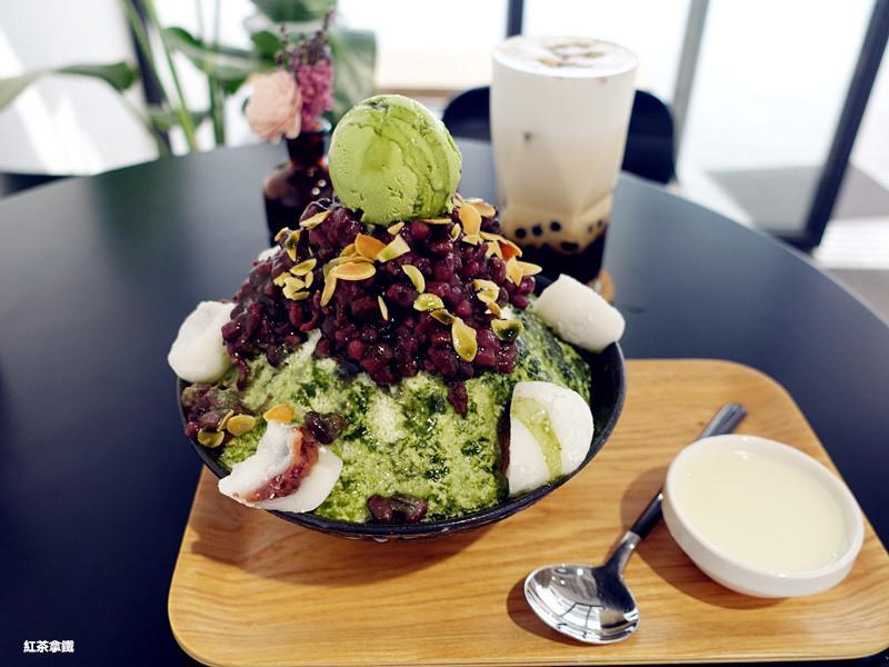 【新北林口美食】那間賣冰的咖啡店 / 韓國雪冰 /飲品