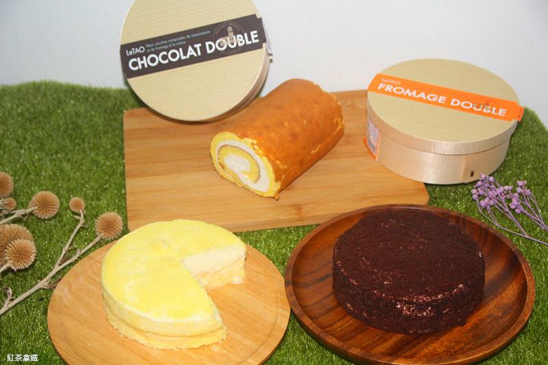 【宅配甜品】LeTAO小樽洋菓子/雙層乳酪蛋糕/北海道澤西牛乳生乳捲