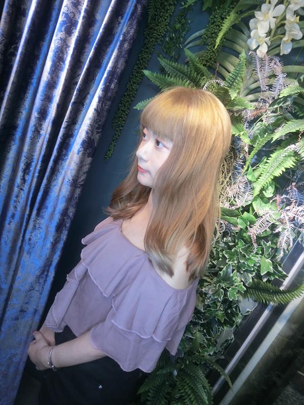 【竹北染髮】 V-Space髮藝沙龍縣政店.質感染髮.芭比娃娃髮色