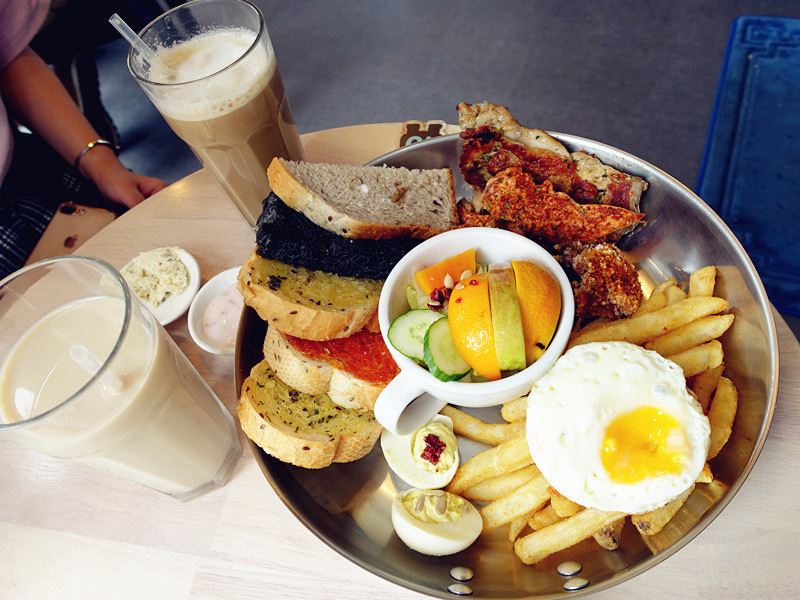 【中壢早午餐】濰克早午餐。豐富多樣早午餐