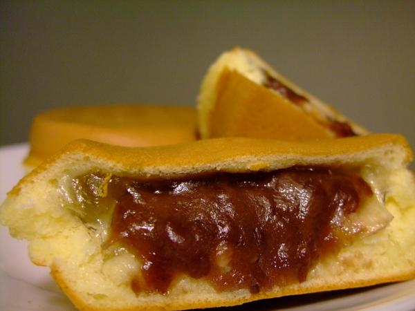 同心圓水晶紅豆餅
