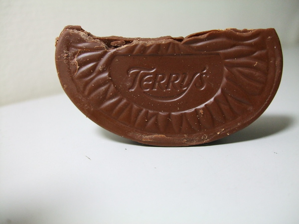 巧克力橘子---Terry's Chocolate Orange Dark