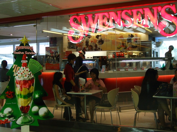 [泰國]平價可愛的雙聖冰淇淋SWENSEN'S
