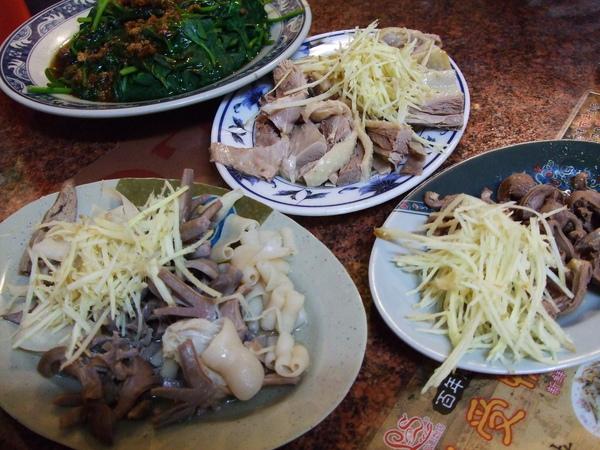 雲林北港---老受鴨肉飯