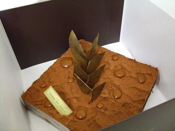 珠寶盒瓜納拉生日蛋糕