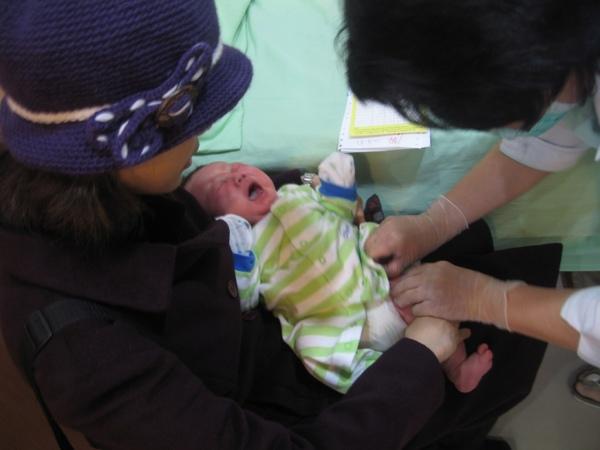 打B肝疫苗第二劑.JPG