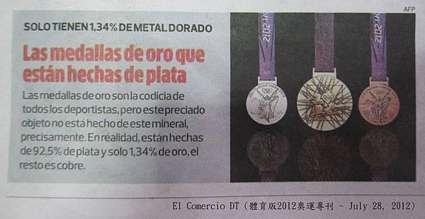 Olimpic 2012 medal