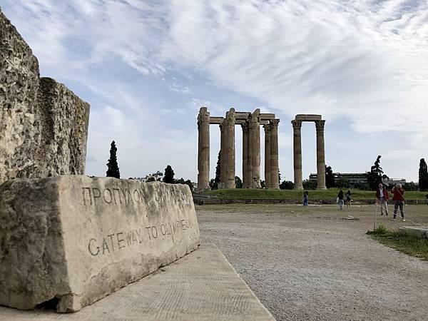 奧林匹亞宙斯神廟(Temple of Olympian Zeus)