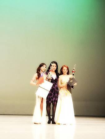 陳妍蓁老師榮獲世界肚皮舞大賽職業組亞軍