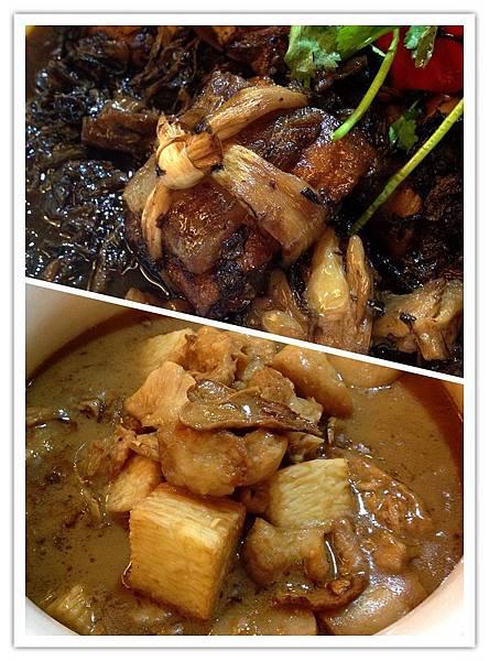 東坡梅乾豐年菜+手工蒲燒漫