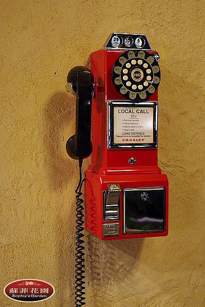 復古電話亭