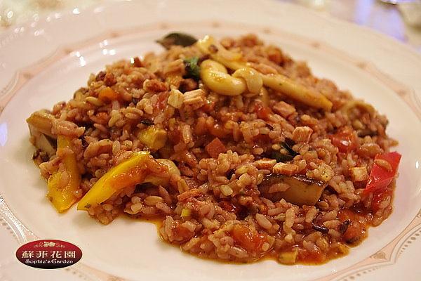 義式套餐 -- 蕃茄野菇燉飯