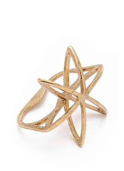 Cosmos Double Finger Ring 1