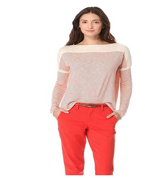 Stripe Slub Sweater