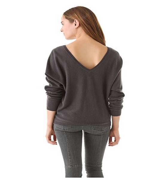 V Back Cashmere Sweater.1