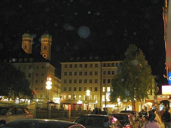 Munchen 夜街景