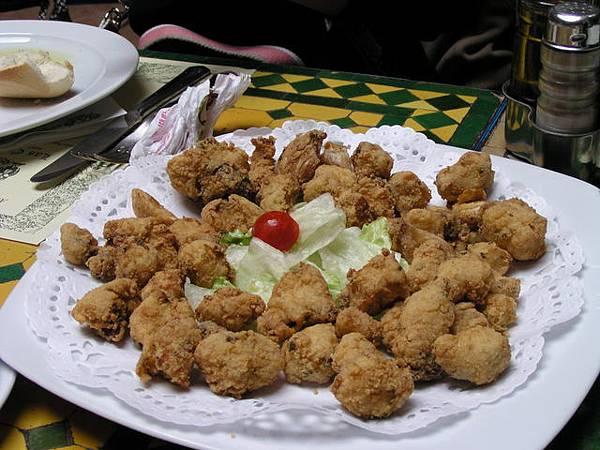D6 lunch (鹹酥雞?)