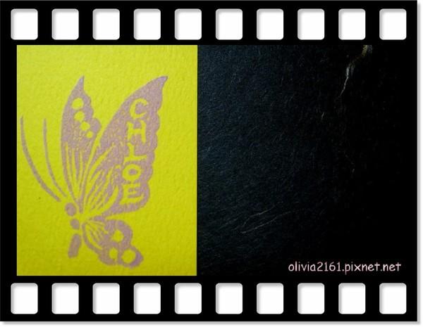 有一隻蝴蝶Chloe