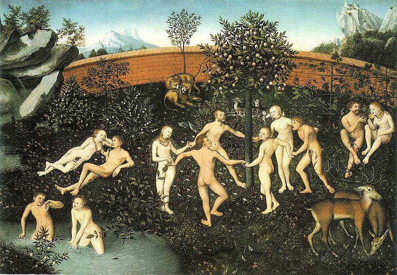 黃金時代 Goldenes-Zeitalter_老盧卡斯·克拉納赫 Lucas Cranach der Ältere