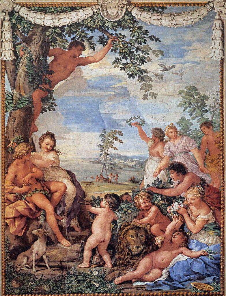 黃金時代  The Golden Age_科爾托納 Pietro de Cortona