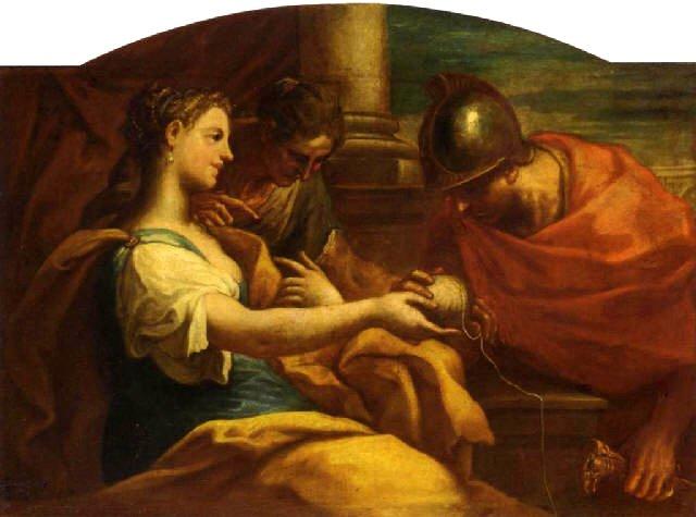 阿麗雅德妮和忒修斯 Ariadne and Theseus  尼克洛 Niccolò Bambini