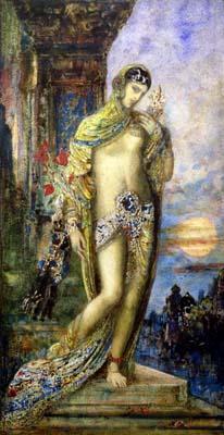 少女書拉密the Shulammite Maiden_居斯塔夫· 摩洛 Gustave Moreau