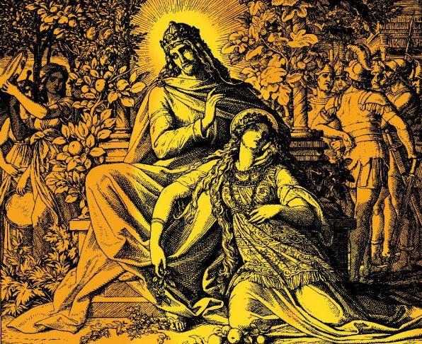 雅歌 Song of Solomon _ 施諾爾.凡.卡羅斯費爾德 Schnorr von Carolsfeld, Julius