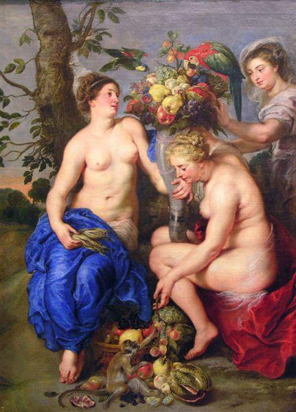 豐收女神得墨忒耳demeter-ceres-diosa-魯本斯PETER PAUL RUBENS