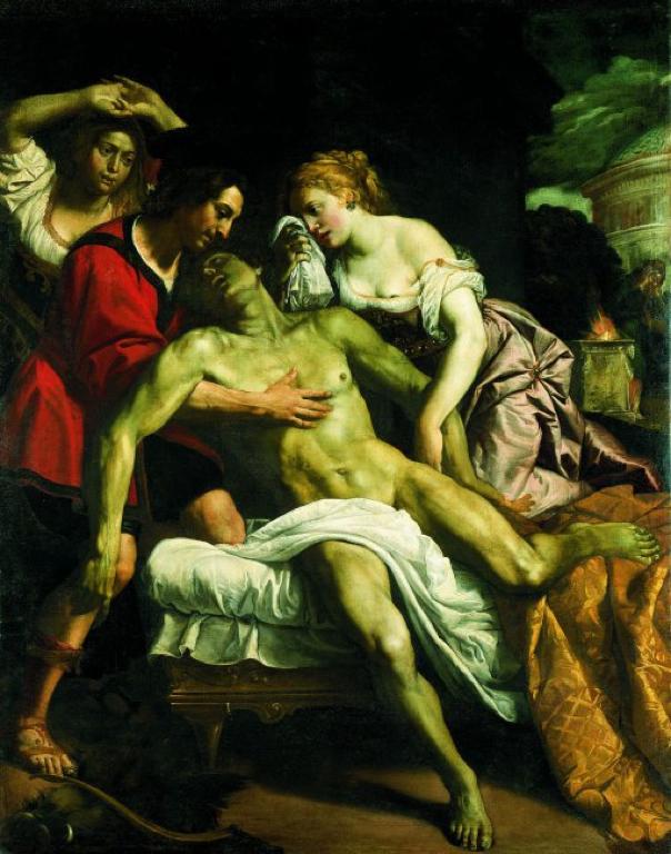 梅列阿格之死 Death of Meleager_多梅尼科Domenico Fiasella