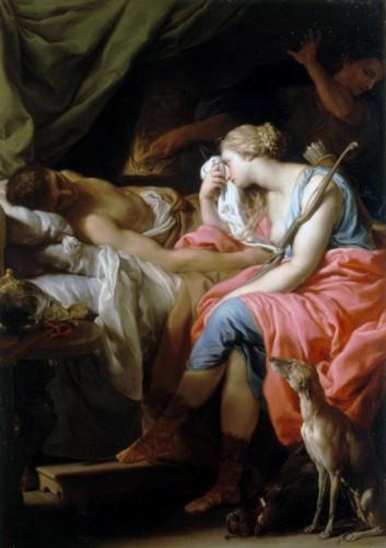 梅列阿格之死 Death of Meleager_蓬佩奧·巴托尼 Pompeo Girolamo Batoni