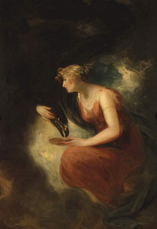 希琵餵食化為鷹的宙斯 Hebe feeding Jupiter