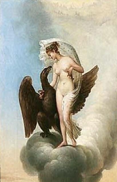 希琵和朱比特Hebe And Jupiter -蘭德勒 Charles Paul Landon