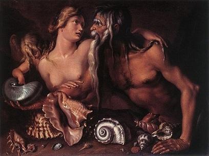 尼普東與安非特里Neptune and Amphitrite_雅各Jacob de Gheyn