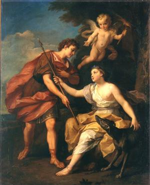 賽伐勒斯和普洛克莉絲 Céphale et Procris_布隆恩 Louis de Boullogne