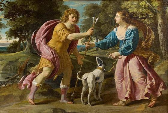 賽伐勒斯和普洛克莉絲 Céphale an Procris_菲力.尚帕尼 Philippe de Champaigne