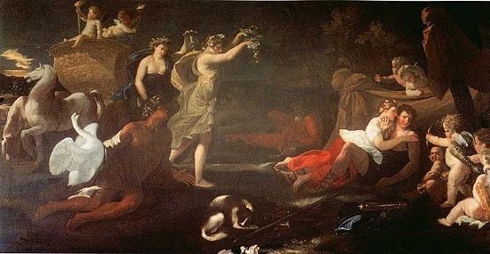 賽伐勒斯和奧羅拉 Cephalus and Aurora_普桑Nicolas Poussin