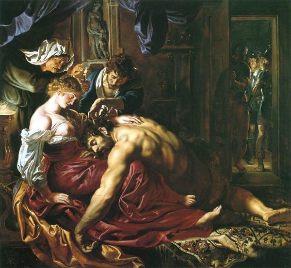 參孫和達利拉 Samson and Delilah_魯本斯Rubens.jpg