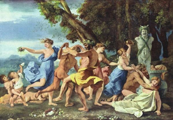 牧羊神節慶之前的狂歡酒神節慶 A Bacchanalian Revel before a Term of Pan_尼古拉.普桑 Nicolas Poussin.jpg