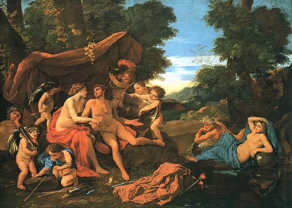 戰神和維納斯 Mars and Venus_尼古拉.普桑 Nicolas Poussin.jpg