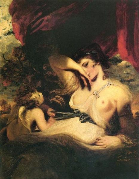 Cupid Untying the Zone of Venus 邱比特替維納斯鬆綁_雷諾茲爵士‧約書亞.jpg