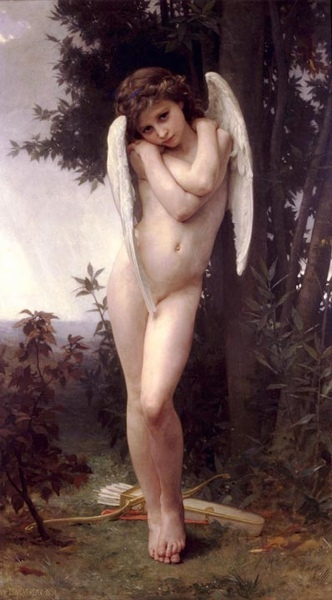愛神邱比特Cupidon_ 鮑格雷奧‧阿道夫‧威廉 Adolphe William Bouguereau.jpg